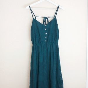 LC Lauren Conrad Floral Midi Dress
